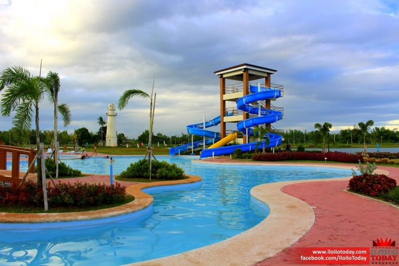 Green Meadows Iloilo swimming pool and slides