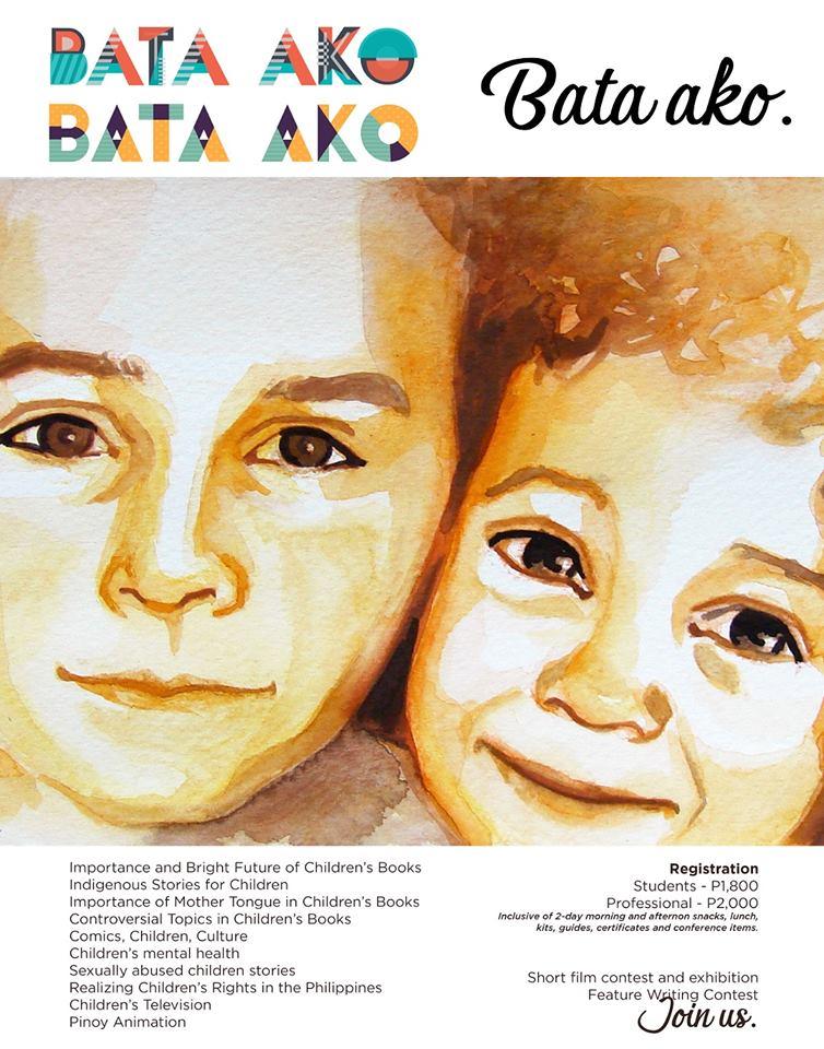Bata Ako conference poster