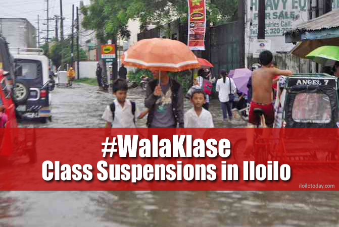 Treñas suspends classes in Iloilo City afternoon of August 6