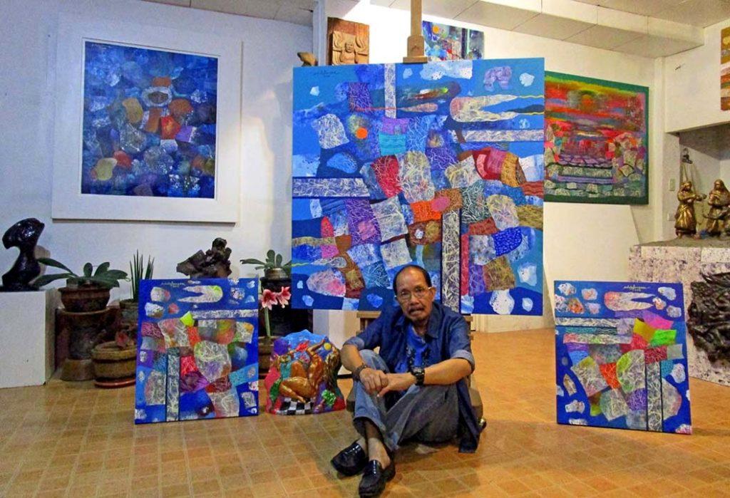 Iloilo's master artist Ed Defensor