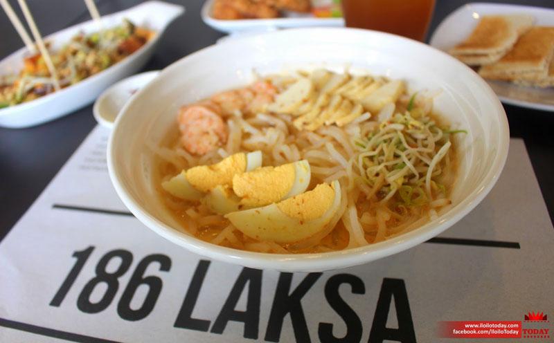 Authentic flavors of Singapore at 186 Laksa Iloilo