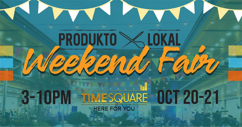 Produkto Lokal Iloilo Weekend Fair.
