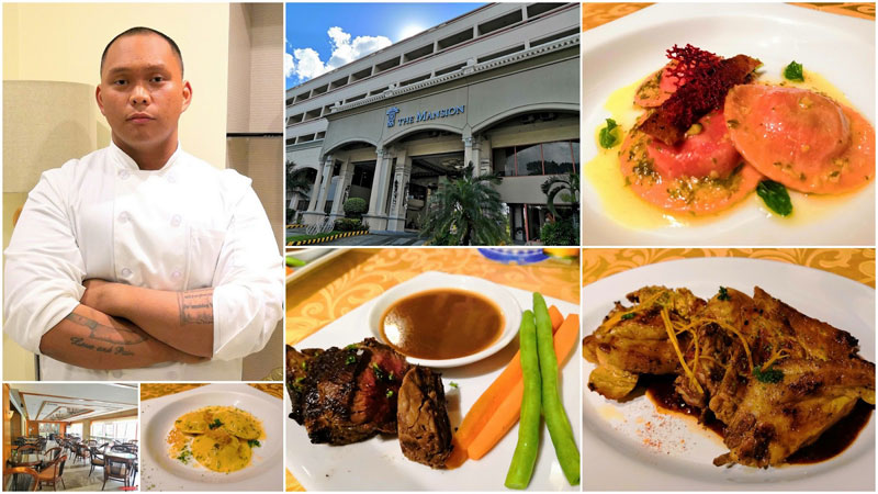 The Mansion Iloilo new Sous-chef Carlos T. Lanzona.