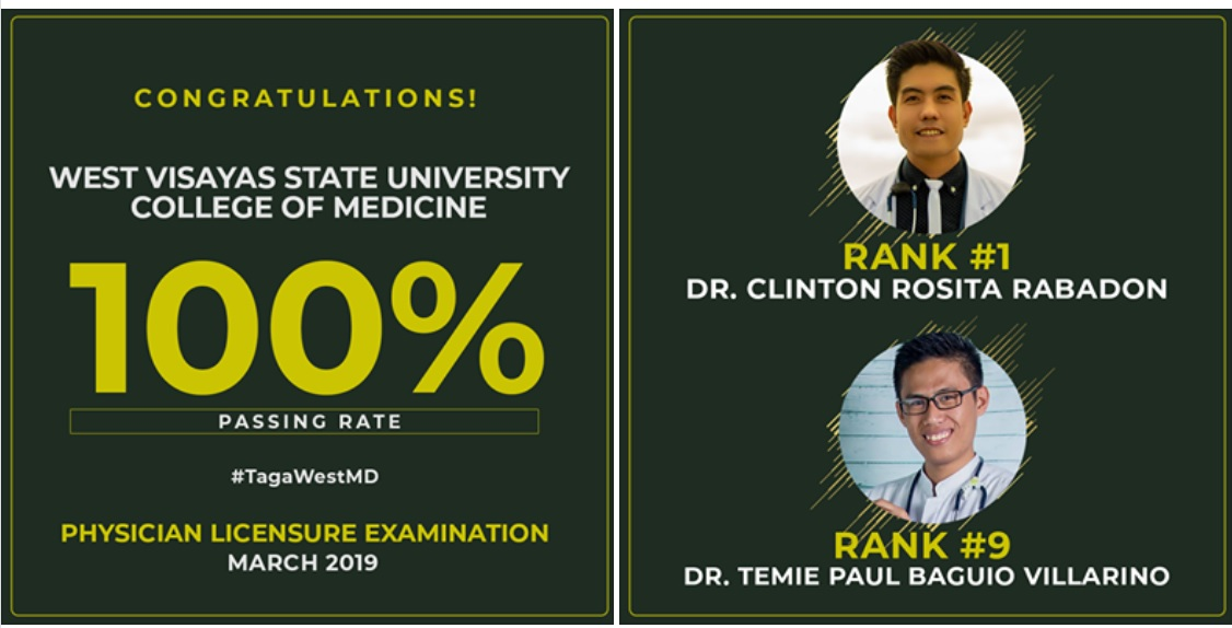 WVSU graduates top March 2019 Physician Board Exam