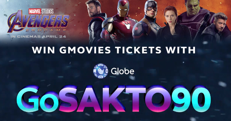 Complete the mission and win Avengers: Endgame tickets with Globe!