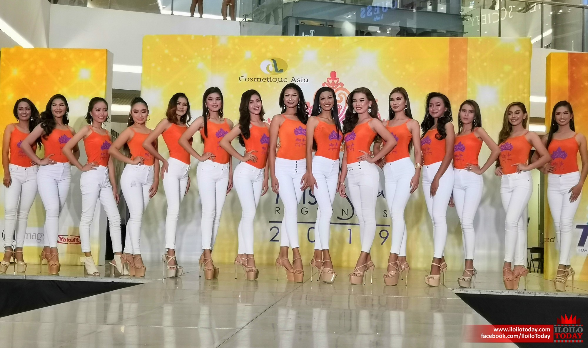 Cosmetique Asia presents Miss Silka Iloilo 2019 official candidates