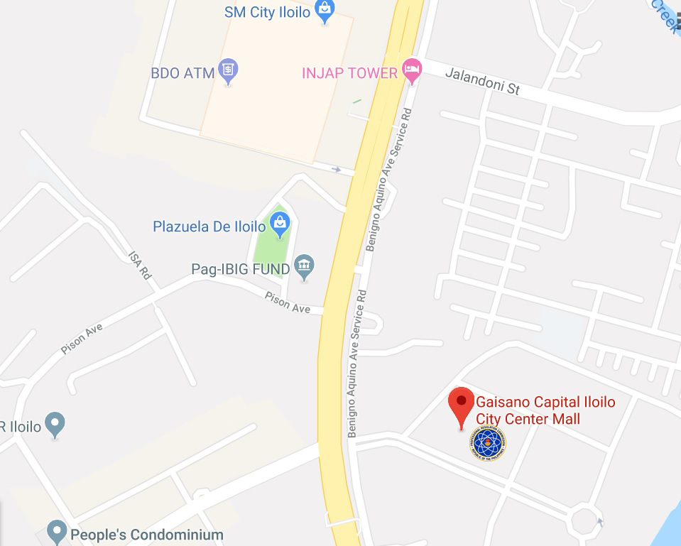 prc office iloilo map