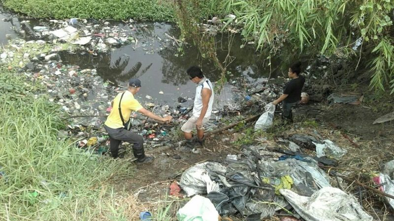 2 tons of waste collected at Calajunan creek