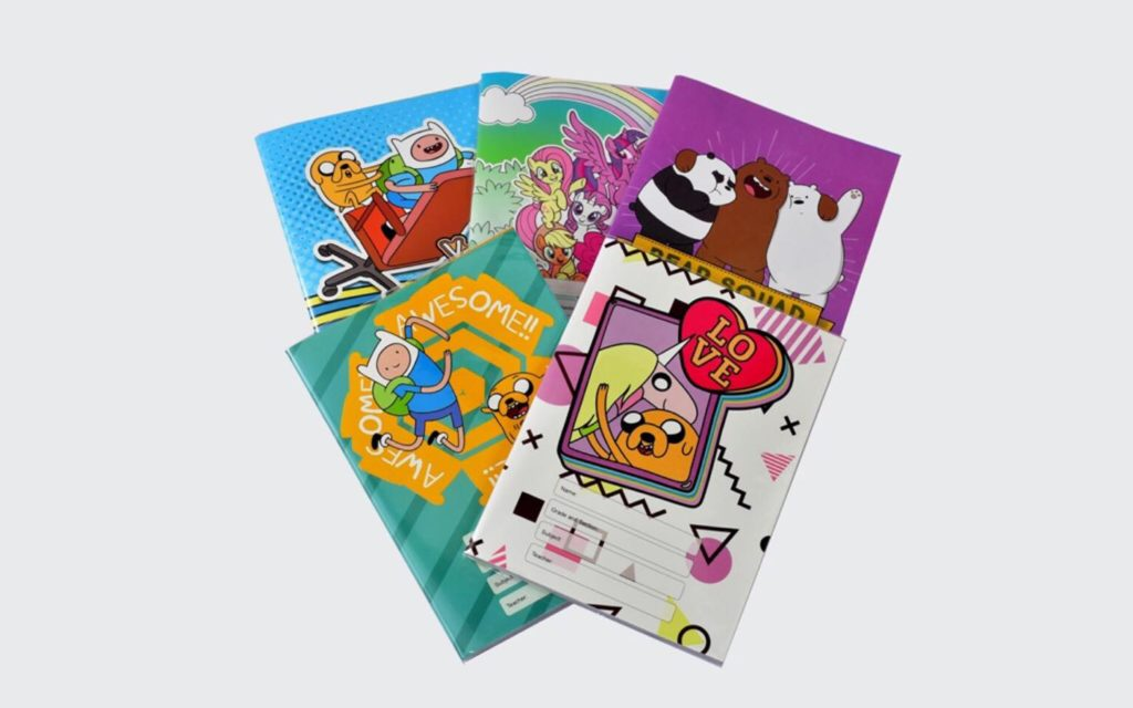 Share your love to the less fortunate kids by donating these colorful notebooks.