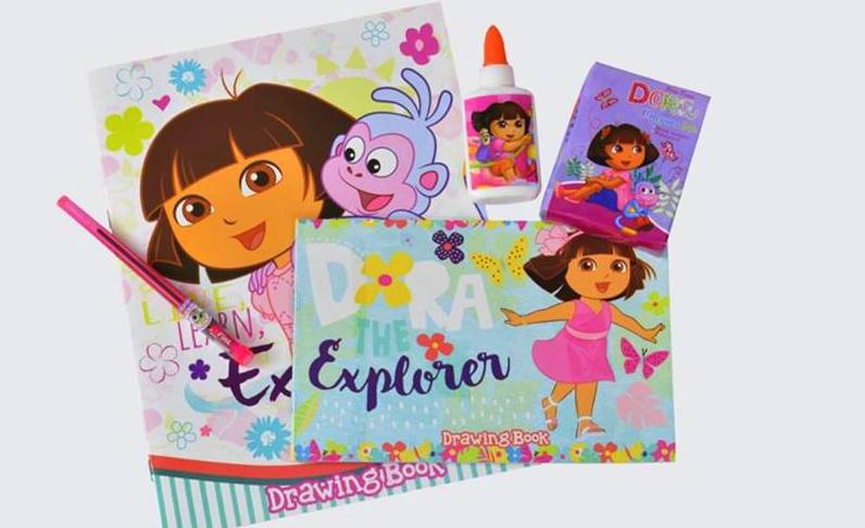 Purchase and donate this Dora Art Pack at The SM Store's Donate-A-Book booth located in all The SM Store branches nationwide.