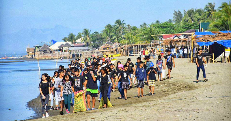 iloilo city coastal cleanup