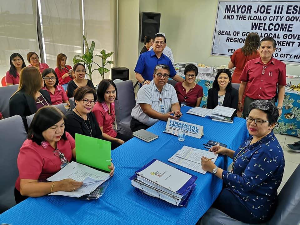 Seal of Good Local Governance validators in Iloilo City.