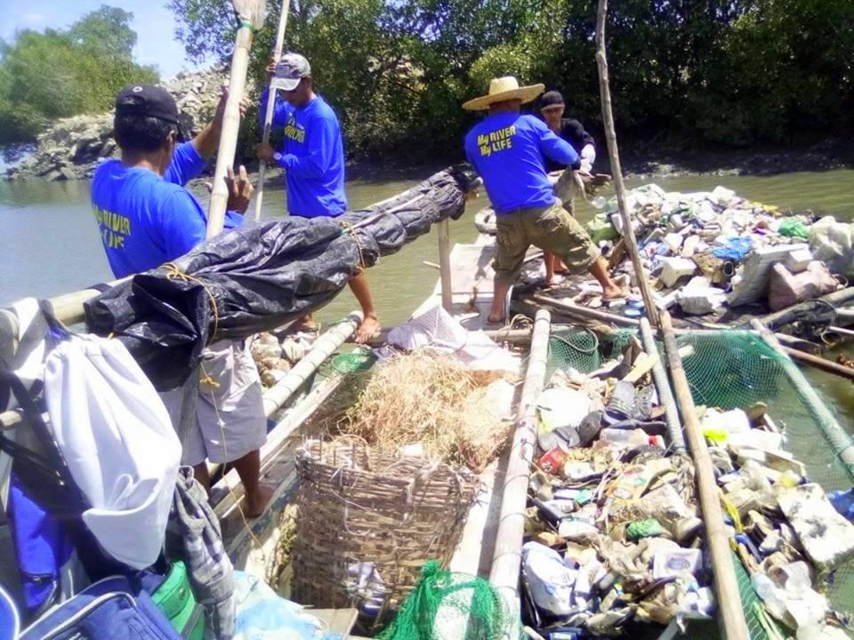 iloilo river garbage