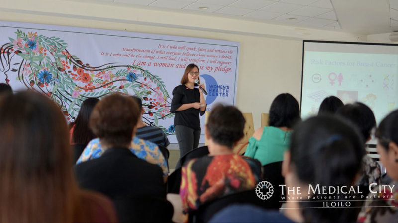 TMC Iloilo empowers women to become healthier