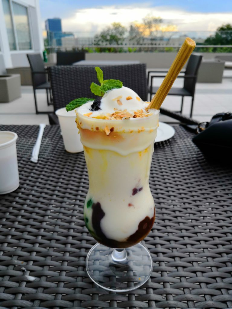 Halo-halo Milkshake at Park Inn Iloilo