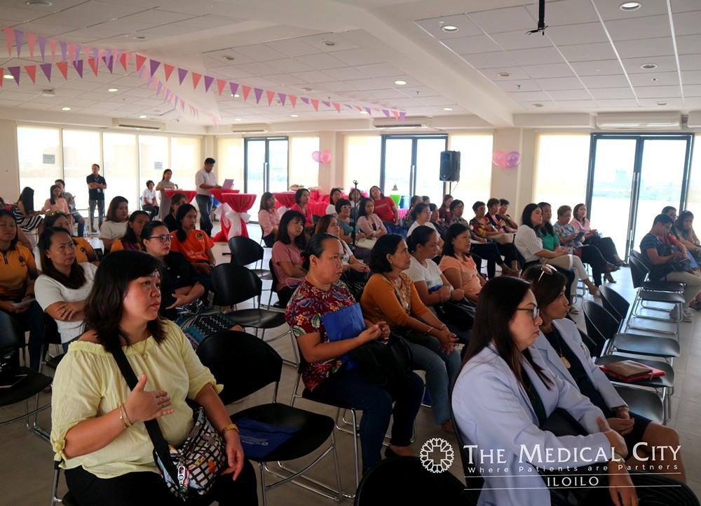Women from different sectors got some expert advises from TMC Iloilo Women's Health Center specialists on how they can take good care of their health.