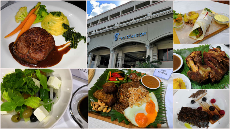 New scrumptious dishes at The Mansion Hotel Iloilo