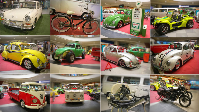 Dad's Garage with Volkswagen at SM City Iloilo