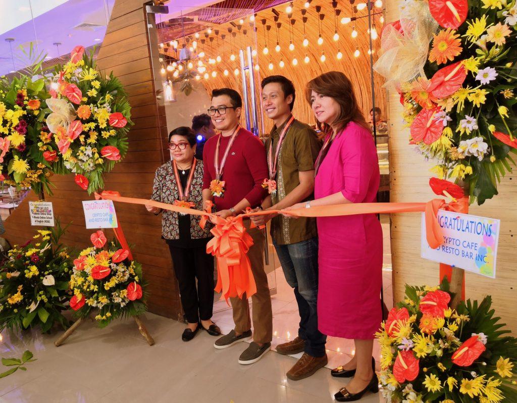 Crypto Cafe Iloilo opening