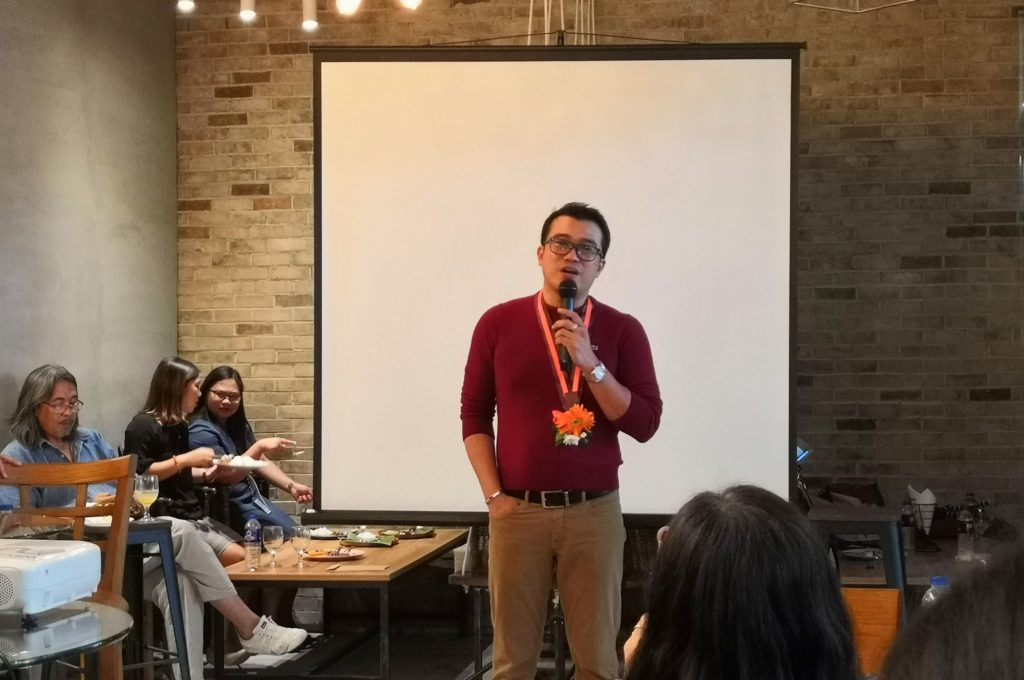 Crypto Cafe CEO Rommel Acejo