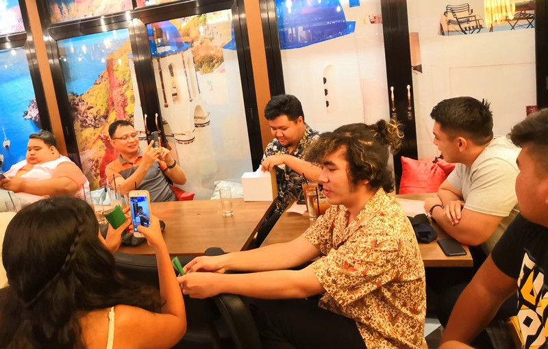 Iloilo bloggers, influencers at Bigby's