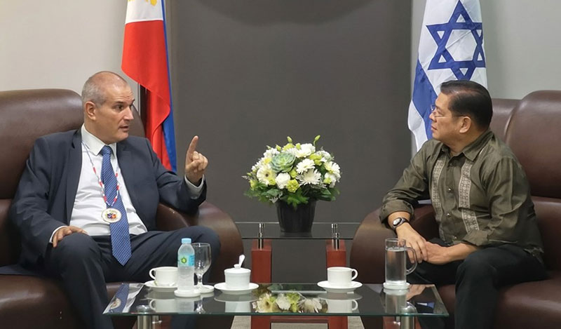 Israel envoy impressed with Iloilo City