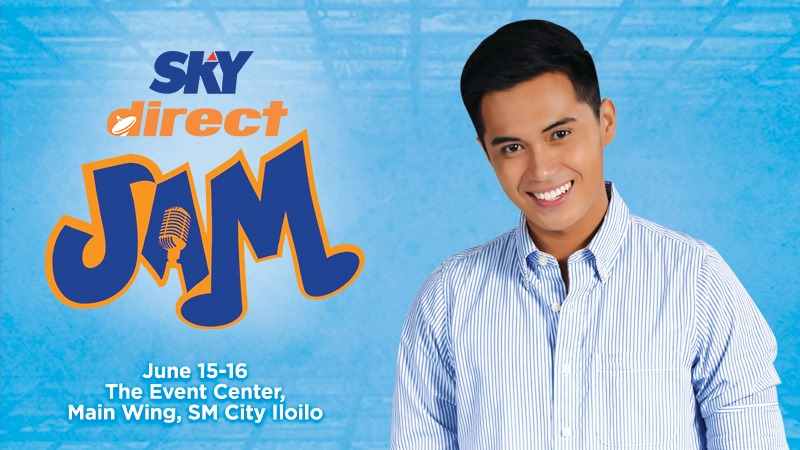 Skydirect jam features Marlo Mortel at SM City Iloilo