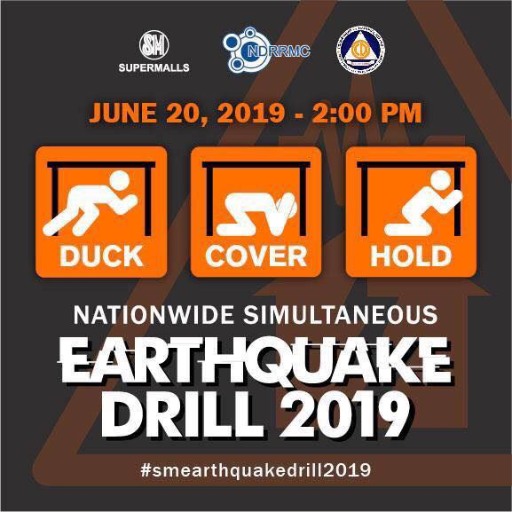 SM City Iloilo joins earthquake drill.
