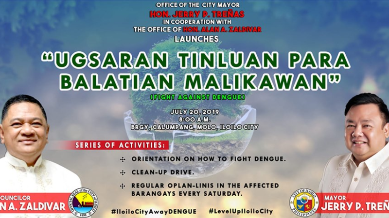Iloilo City launches barangay cleanup vs dengue