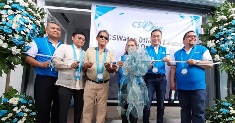 CSWater Iloilo launching in Janiuay