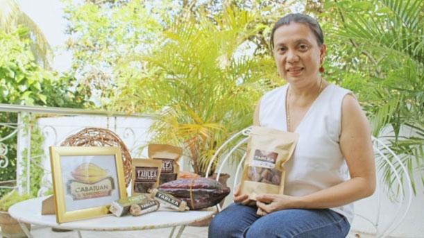 Balay Tablea owner Ms. Catherine Taleon