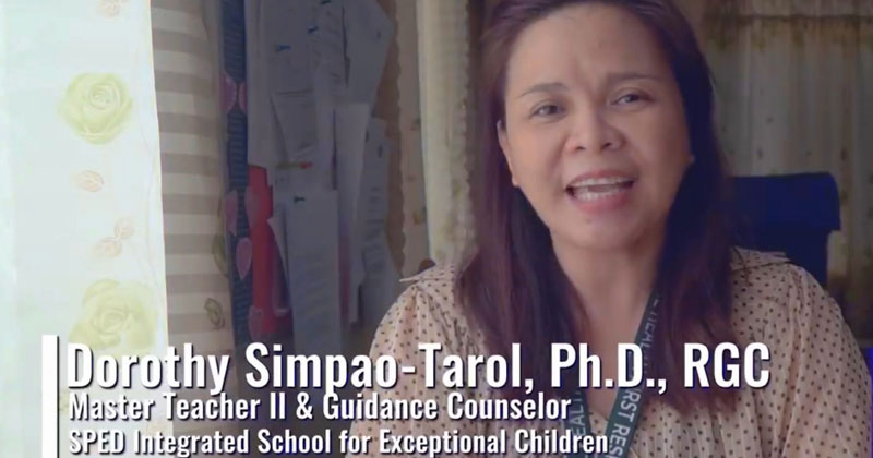 Getting the Message Across: Dr. Dorothy Tarol Enriching DepEd's Take on Inclusion