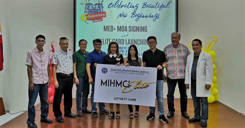 Metro Iloilo Hospital and Medical Center Inc. launches Elite Loyalty Card.
