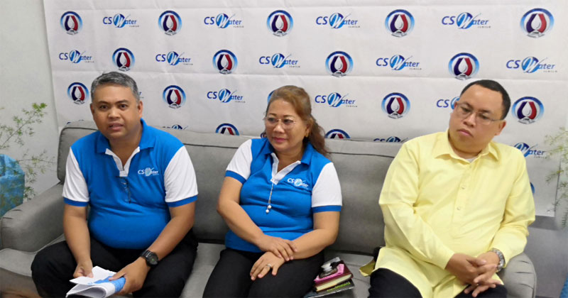 Presscon of CSWater Iloilo