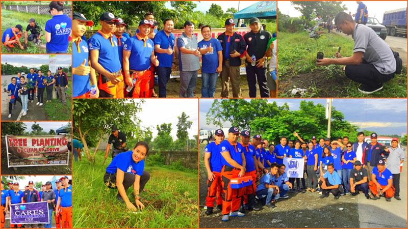 SM City Iloilo joins Iloilo City Tree Planting Activity