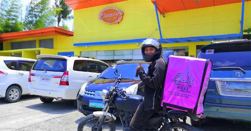 Ang Kamalig Restaurant, Carlo's Bakery Cafe offer food delivery thru Move