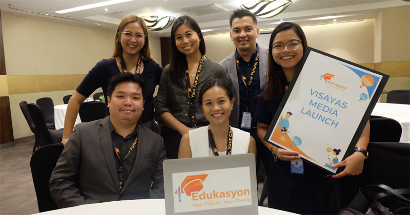 Edukasyon Launches In Visayas