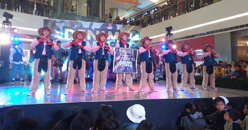 Groovestyle Iloilo wins SM City Iloilo Denim Dancefest.