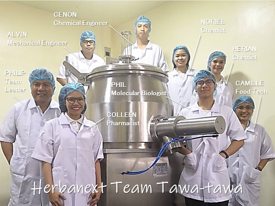 Herbanext Team Tawa-tawa