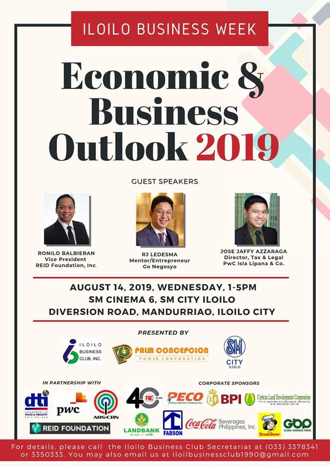 Iloilo Economic and Business Outlook 2019 forum