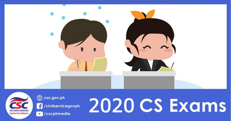 Civil Service Exam Schedule for 2020 released