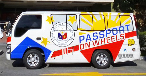 Passport processing at CityMalls nationwide will be under DFA Passport on Wheels program. Photo by DFA in Twitter.
