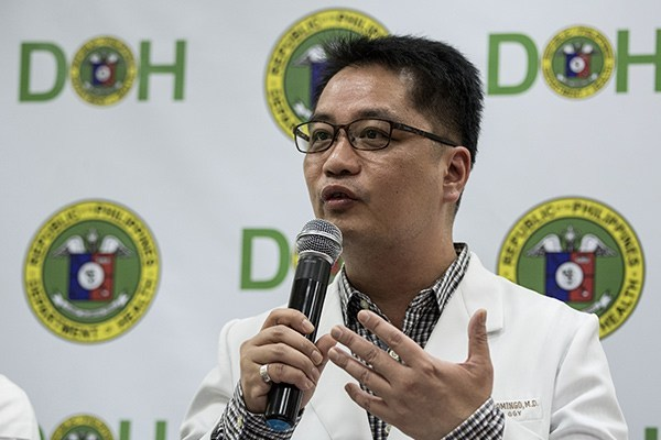 DOH undersecretary Eric Domingo. Photo by Nurse Updates.