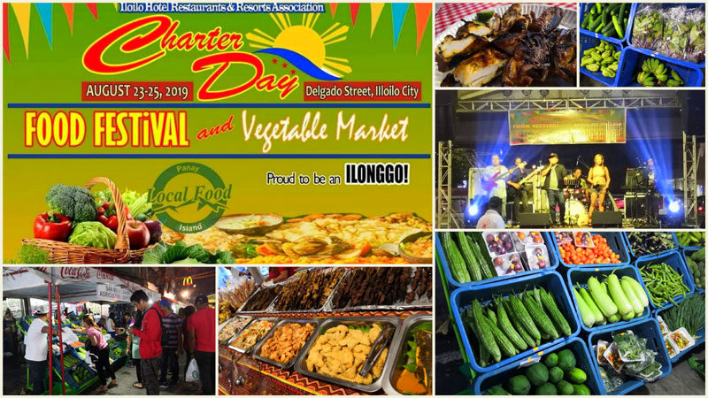 IHRRA Food Festival and Vegetable Market at Delgado Street.