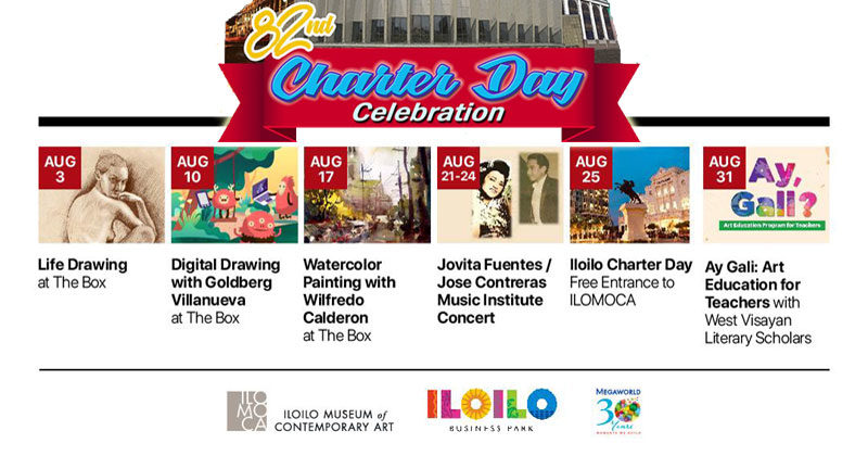 Iloilo City Charter Day Celebration at ILOMOCA