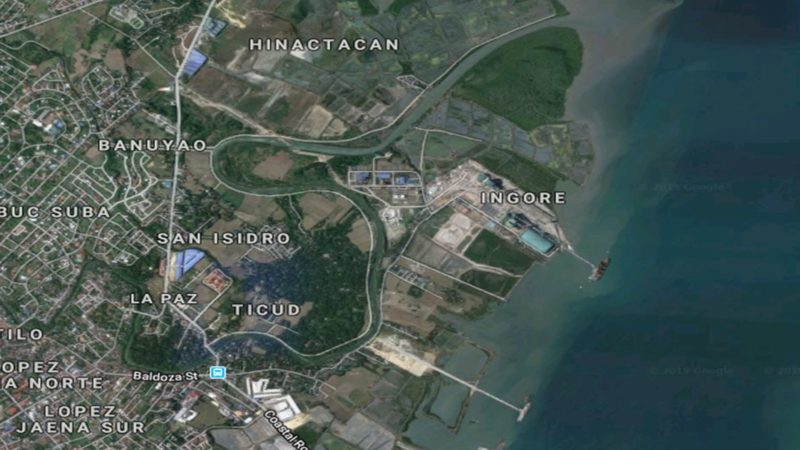 Iloilo City coastal road now an industrial zone