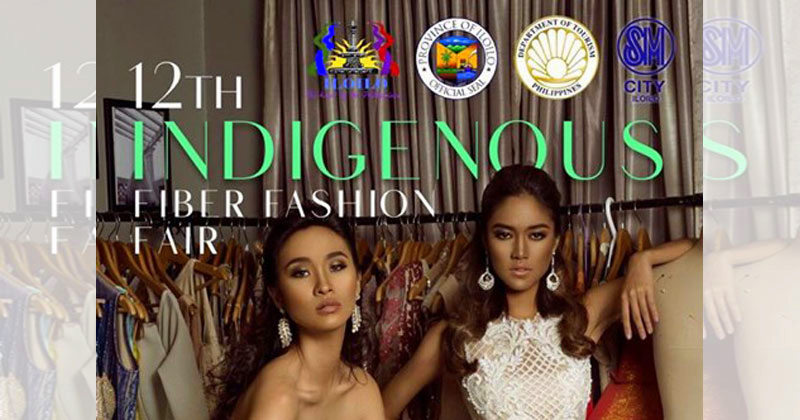 Indigenous Fiber Fashion Fair at SM City Iloilo