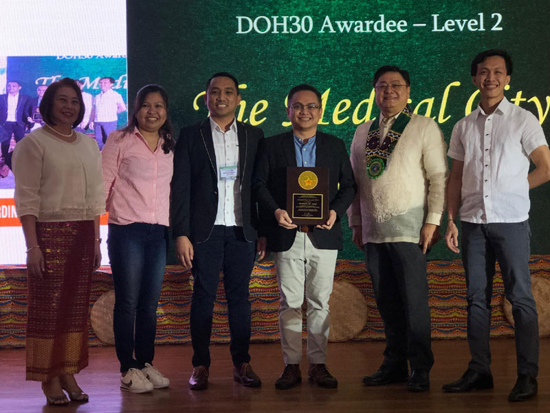 The Medical City Iloilo wins DOH 30 Hospital Star Awards
