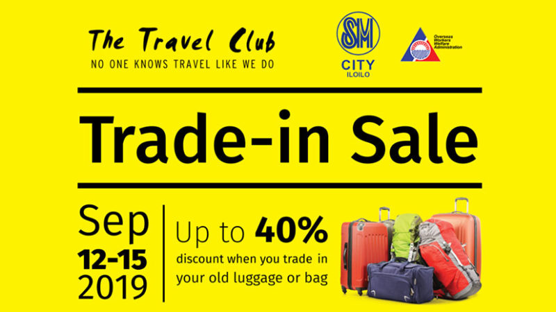 The Travel Club Trade-in Sale is Back!