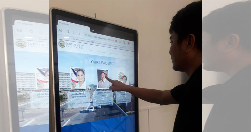 Iloilo City Hall sets up digital info kiosk